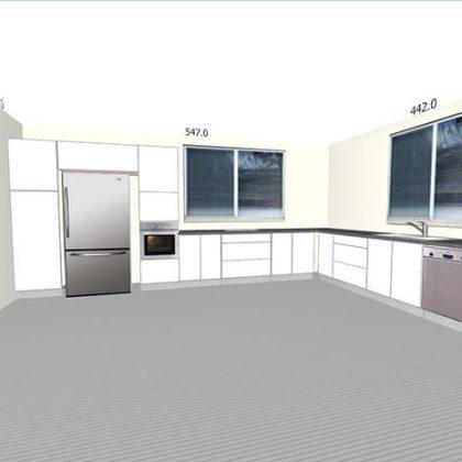הדמיית מטבחים 6